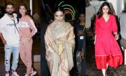 Anushka Sharma- Virat Kohli, Deepika Padukone and Alia