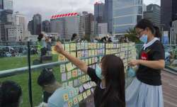 Hong Kong protesters urge UK to back democratic calls