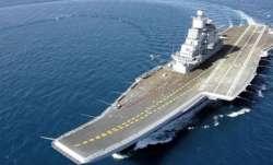 Rajnath to spend 'day at sea' on INS Vikramaditya