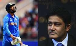 KL Rahul and Anil Kumble