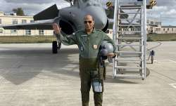 Rajnath Singh's spectacular sortie in Rafale