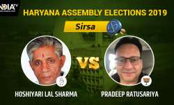 Sirsa Result Live: Pradeep Ratusariya of BJP vs Congress'