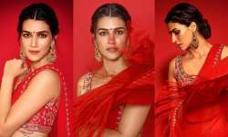Kriti Sanon's latest saree look is 'THE' inspiration you
