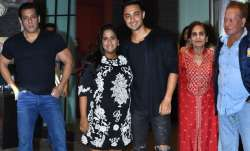Salman Khan's sister Arpita Khan and Aayush Sharma hosted a