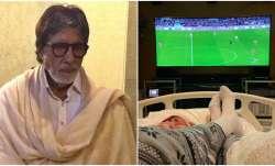 Amitabh Bachchan's bed-ridden photograph concerns fans