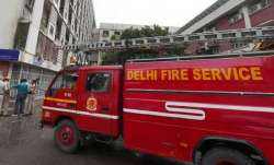 Fire breaks out at ITO in Delhi