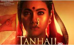 Tanhaji: Tanhaji: The Unsung Warrior (2020): The Unsung Warrior Poster: Ajay Devgn shares Kajol's im