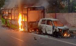 CAA violence in Delhi: When residents left their cars and ran for life