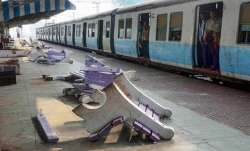 Railway employees hid in toilet to save lives from mob