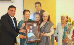 Dilip Kumar honoured by the World Book of Records on 97th birthday