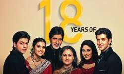 Karan Johar recalls Kabhi Khushi Kabhie Gham as the film clocks 18 years