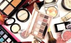 makeup, lip gloss, mascara, beauty blenders