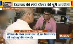 Hyderabad victim's family speaks to India TV