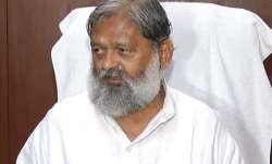 The Home Minister of Haryana Anil Vij on Friday announced