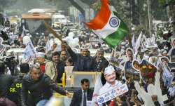 Arvind Kejriwal files nomination from New Delhi Assembly