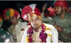 Neeraj Malviya, the groom