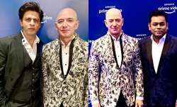 shah rukh khan jeff bezos amazon prime video event