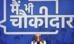 Modi's 'Main Bhi Chowkidar' campaign wins Effie Silver award