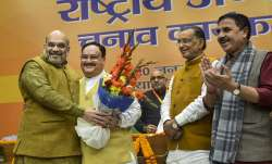 Union Home Minister and outgoing BJP President Amit Shah