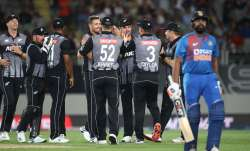 Live Score India vs New Zealand, 2nd T20I: Rohit departs early in 133 chase