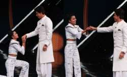 Shah Rukh Khan grooves to 'Tujh Mein Rabb Dikhta Hai' with Dance+5 contestant Dipika