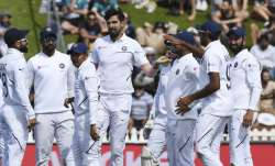 India staged a late fightback to pull things back a bit
