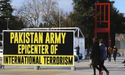 'Pakistan Army Epicenter of International Terrorism' poster put up at 43rd UNHRC session in Geneva