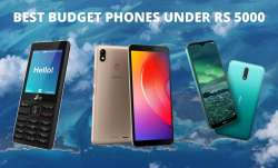 Here's a list of top 5 budget phones under Rs 5,000