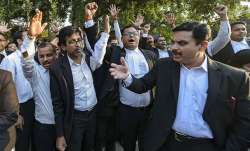 Jharkhand lawyers strike work to protest judge's