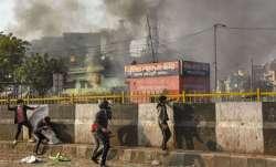Children stuck in schools as violence erupts in Delhi