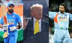 US President Donald Trump mentioned Sachin Tendulkar and