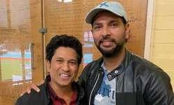 Yuvraj Singh and Sachin Tendulkar