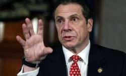 A file photo of New York state governor Andrew Cuomo