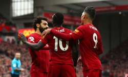 Liverpoolare presently 25 points clear at the top