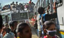Major lapse: Buses full of migrants allowed out of Ranchi
