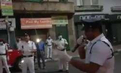 Policeman dons singer's hat to cheer people amid coronavirus lockdown   Watch video