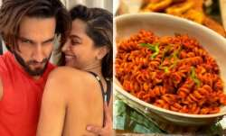 Ranveer Singh is being spoilt with yummy food, by Deepika Padukone of course!