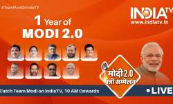 One year of Modi 2.0 government: Union Ministers were be LIVE on India for a day-long event.