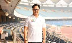 Athletes should be given a higher pedestal in society, says Kiren Rijiju