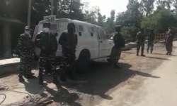 Terrorists, Security forces, Kashmir, Shopian