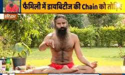 Treat diabetes naturally at home with Swami Ramdev's