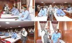 PM Modi meets soldiers injured in Galwan clash, in Leh