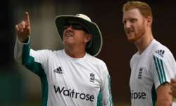 Trevor Bayliss with Ben Stokes