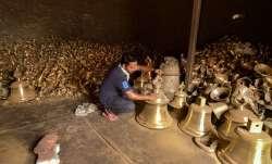 Artisans in Etah make 2,100kg bell for Ram temple