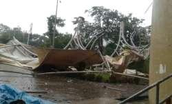 Mumbai Rains: Part of DY Patil Cricket Stadium collapses