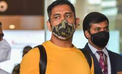 MS Dhoni arrives in Chennai on Friday