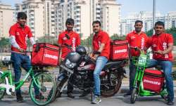 Some of the delivery partners of Zomato