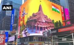 WATCH: Digital billboard of Lord Ram and Ram Mandir goes live on New York's Time Square