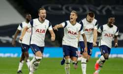 Erik Lamela equalized for Tottenham late