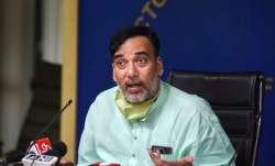 Delhi Environment Minister Gopal Rai